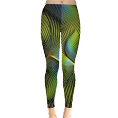 Fractal Abstract Design Fractal Art Leggings