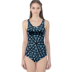 Blockchain Cryptography One Piece Swimsuit