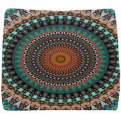 Ornament Circle Picture Colorful Seat Cushion