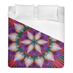Seamless Abstract Colorful Tile Duvet Cover (full/ Double Size) by Pakrebo