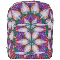 Seamless Abstract Colorful Tile Full Print Backpack by Pakrebo