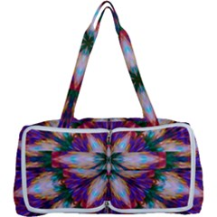Seamless Abstract Colorful Tile Multi Function Bag