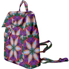 Seamless Abstract Colorful Tile Buckle Everyday Backpack