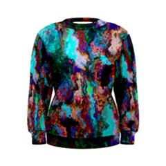 Seamless Abstract Colorful Tile Women s Sweatshirt