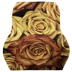 Roses Flowers Love Red Plant Car Seat Back Cushion