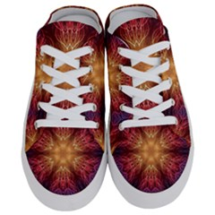 Fractal Abstract Artistic Half Slippers