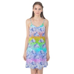 Colorful Iridescent Clouds Camis Nightgown