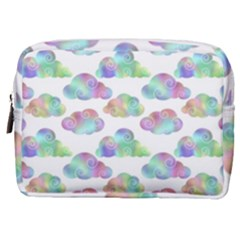 Colorful Iridescent Clouds Make Up Pouch (medium)