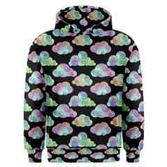 Colorful Iridescent Clouds Men s Overhead Hoodie