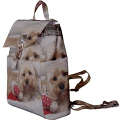 Cockapoo In Dog s Bed Buckle Everyday Backpack