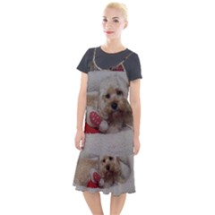 Cockapoo In Dog s Bed Camis Fishtail Dress