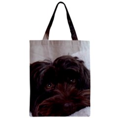 Laying In Dog Bed Classic Tote Bag