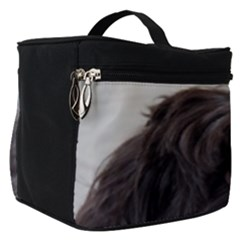 Laying In Dog Bed Make Up Travel Bag (small)