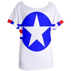 Us Air Force Usaf Women s Oversized Tee by Bejoart