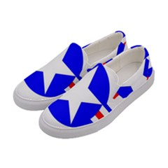 Us Air Force Usaf Women s Canvas Slip Ons by Bejoart