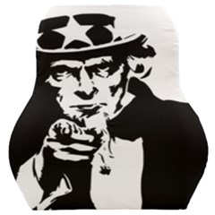 Uncle Sam Government Symbol America Car Seat Back Cushion