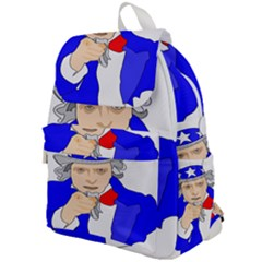 Uncle Sam I Want You Army Usa Man Top Flap Backpack