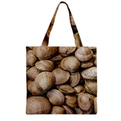 Shellfishs Photo Print Pattern Grocery Tote Bag by dflcprintsclothing