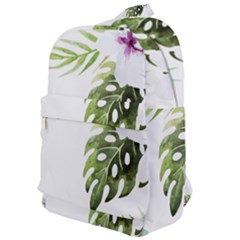 Tropical Flowers Classic Backpack by goljakoff