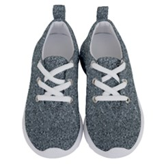 Silver Sparkle Running Shoes