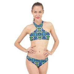 Blutterfly2owcowcowcow High Neck Bikini Set