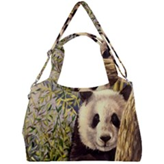 Panda Double Compartment Shoulder Bag by ArtByThree