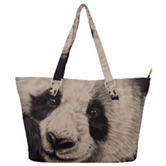 Giant Panda Full Print Shoulder Bag