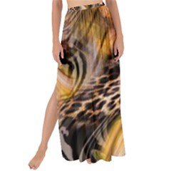 Luxury Animal Print Maxi Chiffon Tie Up Sarong