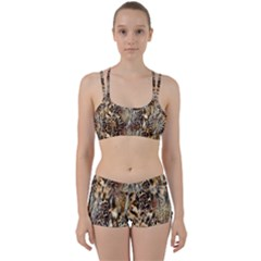 Luxury Animal Print Perfect Fit Gym Set by tarastyle