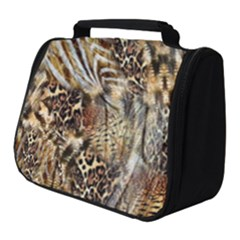 Luxury Animal Print Full Print Travel Pouch (small)