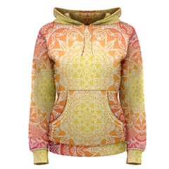 Colorful Mandala Women s Pullover Hoodie by tarastyle