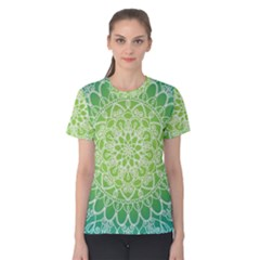 Colorful Mandala Women s Cotton Tee