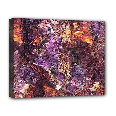 Colorful Rusty Abstract Print Deluxe Canvas 20  X 16  (stretched)