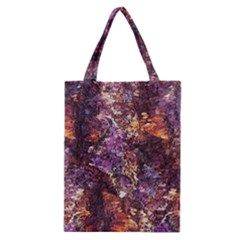 Colorful Rusty Abstract Print Classic Tote Bag by dflcprintsclothing