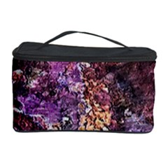 Colorful Rusty Abstract Print Cosmetic Storage