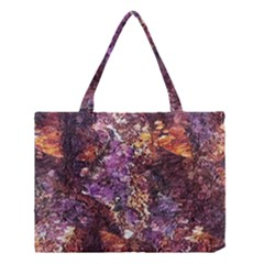 Colorful Rusty Abstract Print Medium Tote Bag by dflcprintsclothing