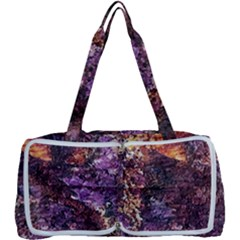 Colorful Rusty Abstract Print Multi Function Bag