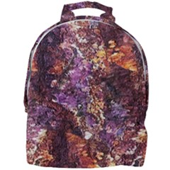 Colorful Rusty Abstract Print Mini Full Print Backpack