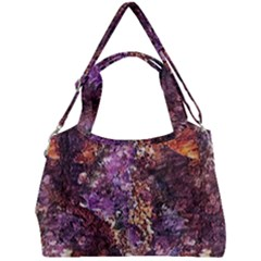 Colorful Rusty Abstract Print Double Compartment Shoulder Bag by dflcprintsclothing