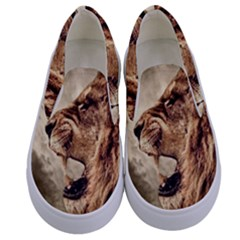 Roaring Lion Kids  Canvas Slip Ons