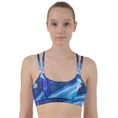 Tardis Space Line Them Up Sports Bra