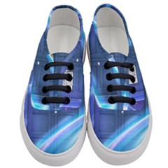 Tardis Space Women s Classic Low Top Sneakers