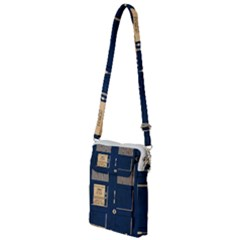 Tardis Poster Multi Function Travel Bag