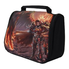 Fantasy Art Fire Heroes Heroes Of Might And Magic Heroes Of Might And Magic Vi Knights Magic Repost Full Print Travel Pouch (small) by Sudhe