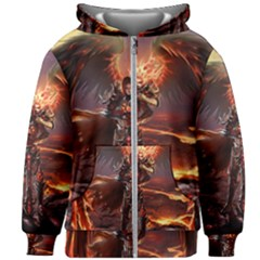 Fantasy Art Fire Heroes Heroes Of Might And Magic Heroes Of Might And Magic Vi Knights Magic Repost Kids  Zipper Hoodie Without Drawstring by Sudhe