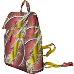 Flashy Logo Buckle Everyday Backpack by Sudhe