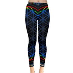 Flower Of Life Inside Out Leggings