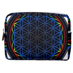 Flower Of Life Make Up Pouch (medium)