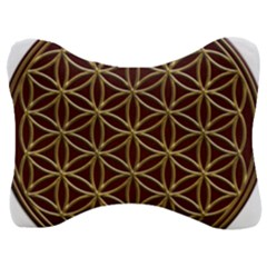 Flower Of Life Velour Seat Head Rest Cushion