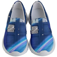 Tardis Space Kids  Lightweight Slip Ons